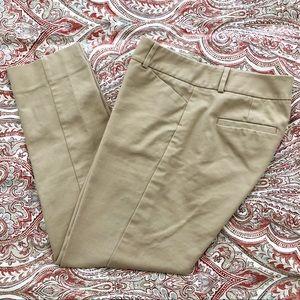 The Limited Classic Pencil Pants - Khaki Sz 4
